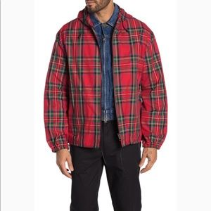 NWT BURBERRY BRIDSTOW PLAID PRINTED JACKET